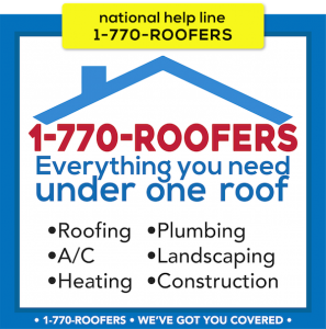 1-770-ROOFERS is the National Helpline for Connecting Consumers to Service Contractors Doctor