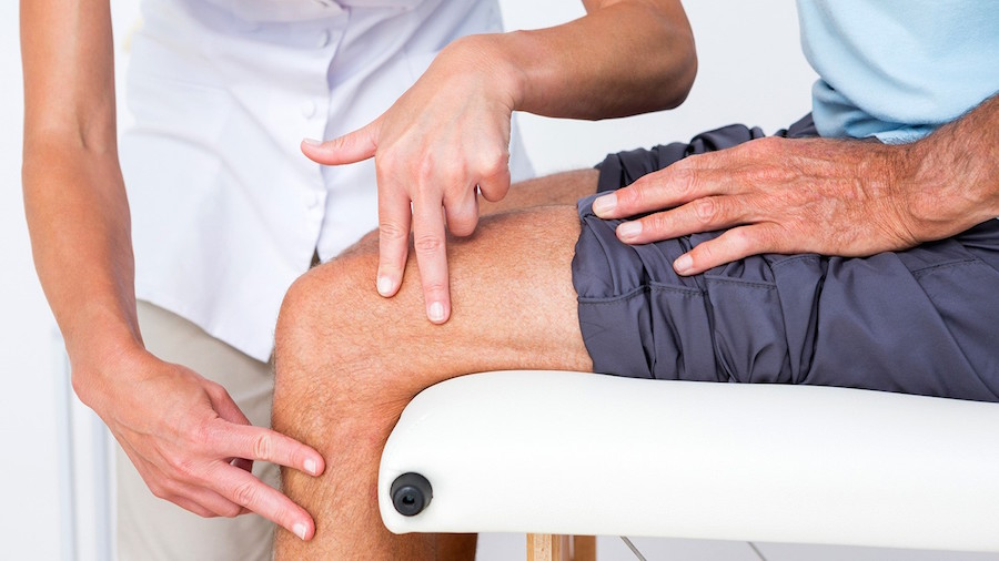 Osteoarthritis Treatment Including Physical Therapy and Pain Medication