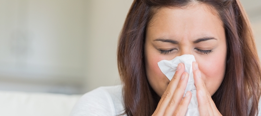 allergy symptoms and histamine response