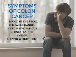 signs and symptoms of colon can